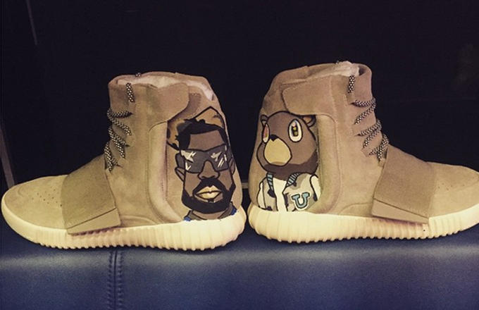 Adidas Yeezy Boost Customizes by Chris Brown_02