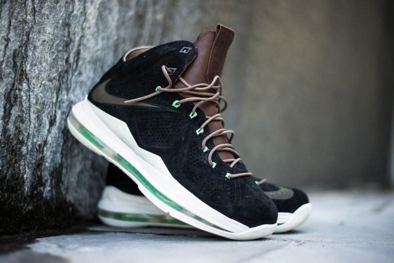 Nike Lebron X Ext QS Black Suede_09