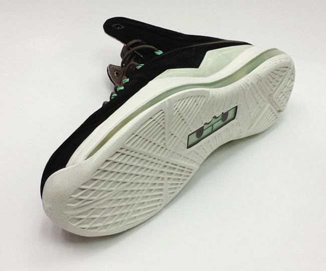 Nike Lebron X Ext QS Black Suede_20