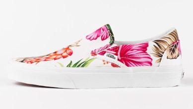 Vans Slip-On Hawaiian Floral White_01