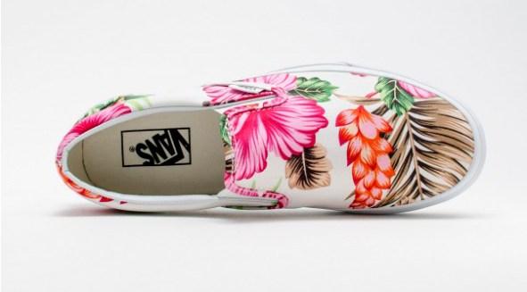 Vans Slip-On Hawaiian Floral White_10
