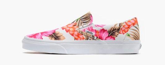 Vans Slip-On Hawaiian Floral White_11