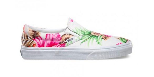 Vans Slip-On Hawaiian Floral White_20