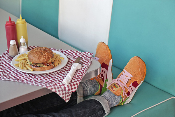 Saucony Shadow 5000 Burger x END_129