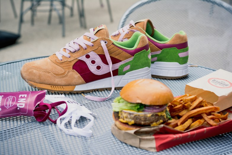 Saucony Shadow 5000 Burger x END_42
