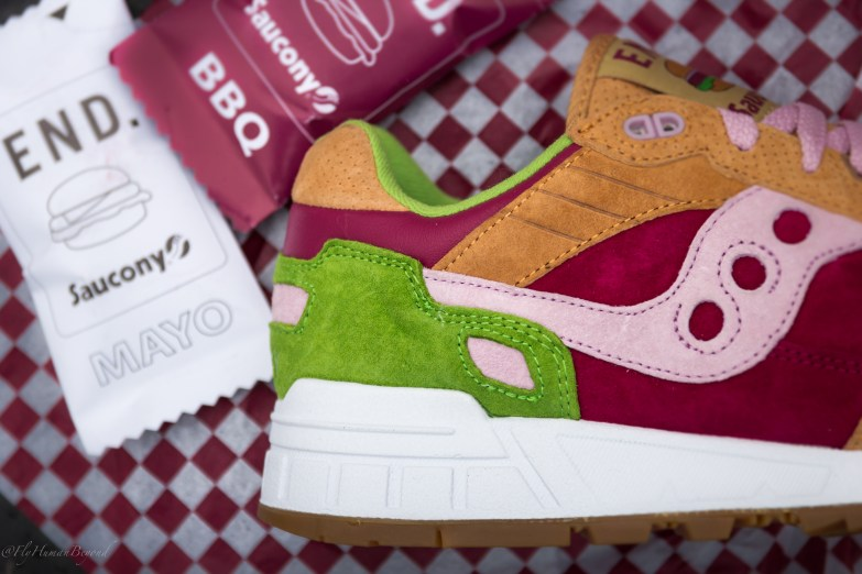 Saucony Shadow 5000 Burger x END_84