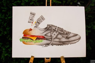 Saucony Shadow 5000 Burger x END_96
