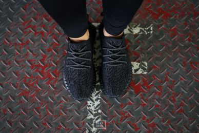Adidas Yeezy Bost 350 Pirate Black _11