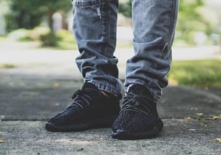 Adidas Yeezy Bost 350 Pirate Black _48