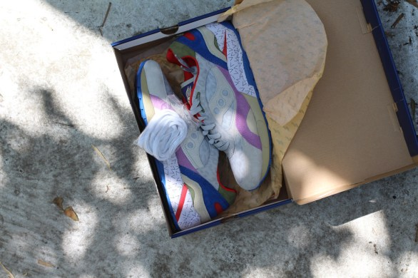 Saucony G9 Shadow 6 Pattern Recognition x Bodega_35