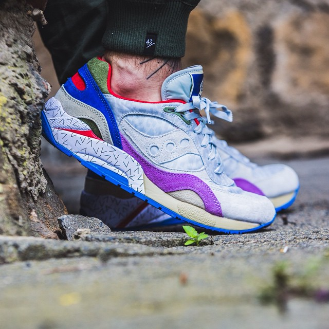 Saucony G9 Shadow 6 Pattern Recognition x Bodega_50