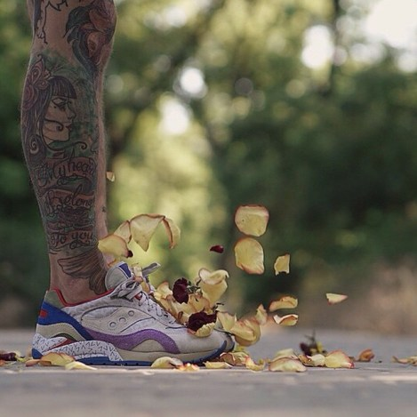 Saucony G9 Shadow 6 Pattern Recognition x Bodega_76