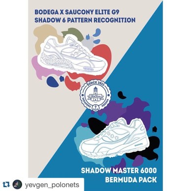 Saucony G9 Shadow 6 Pattern Recognition x Bodega_78