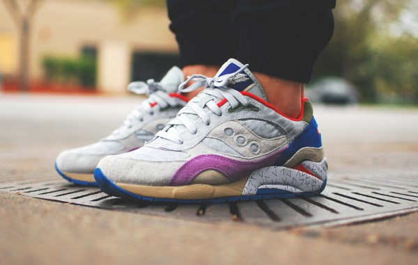 Saucony G9 Shadow 6 Pattern Recognition x Bodega_ID