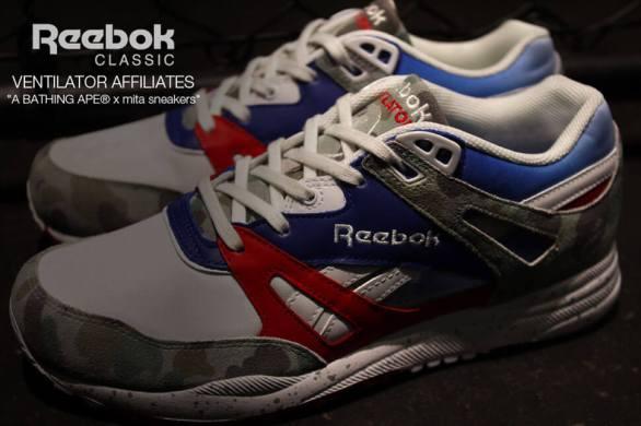 Reebok Ventilator x BAPE x Mita Sneakers_16