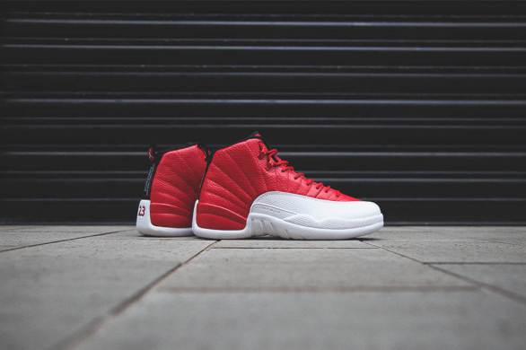 Air Jordan 12 Retro Gym RedWhite_21