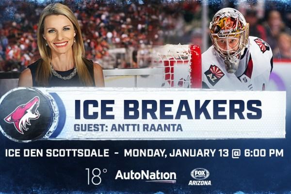 Jan 13 Raanta Ice Breakers promo graphic