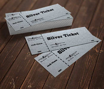 Silver Ticket Printing