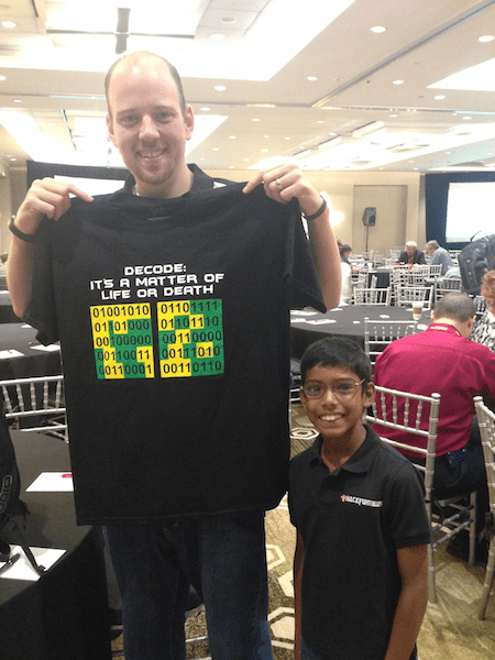 HackFormer Hacker Tees – Dave Kennedy and me