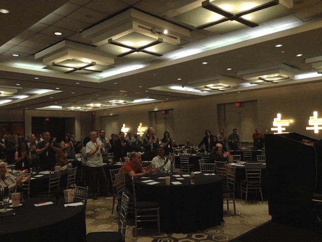 Standing ovation at Hou.Sec.Con