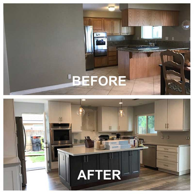 kitchen remodling two seat table remodeling design in orange county cabinet wholesalers ca