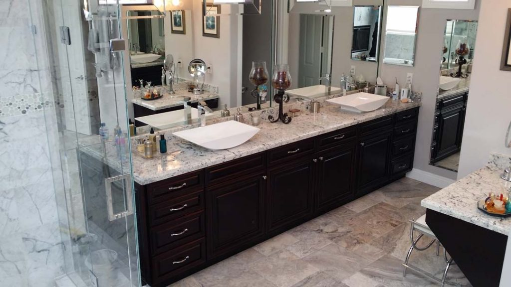 Bathroom Refacing Save Time  Includes 20 Year Warranty