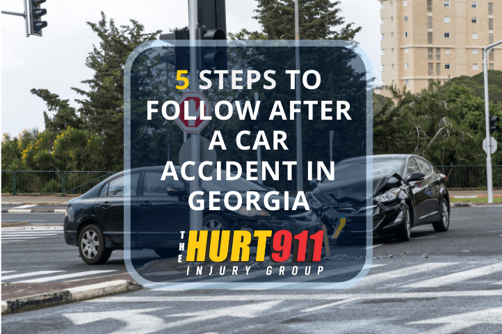 5 Steps to Follow After a Car Accident in Georgia