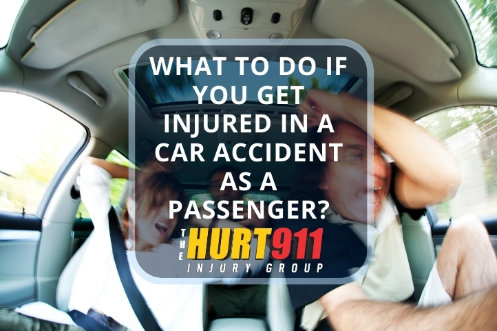 What to Do if You Get Injured in a Car Accident as a Passenger?