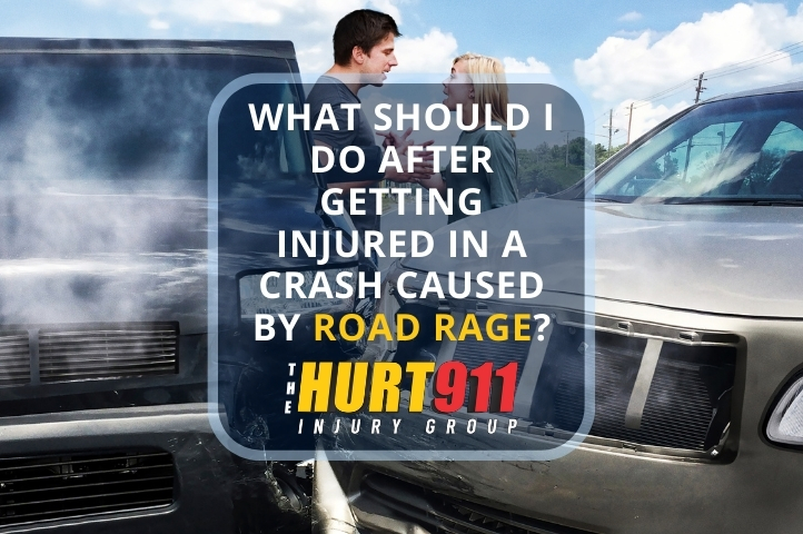 What Should I Do After Getting Injured in a Crash Caused by Road Rage?