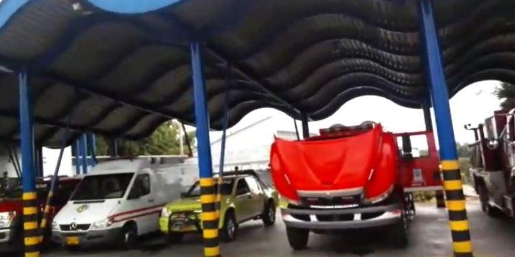 Bomberos Armenia sin vehículos para atender emergencias por falta de mantenimiento