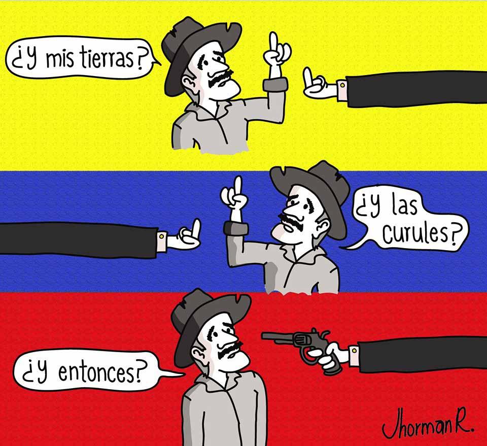 Esto es política colombiana.