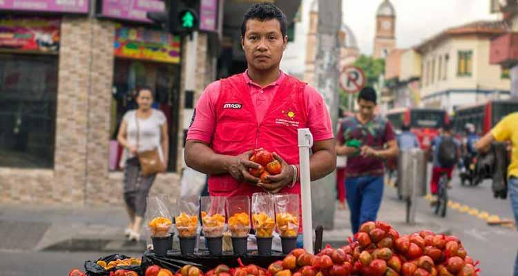 multa por comprar chotaduro a vendedor ambulante en Armenia