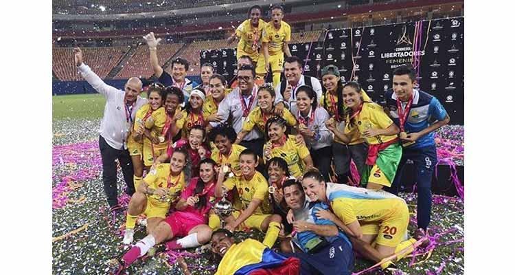 Premio Huila femenino campeón de la Copa Libertadores