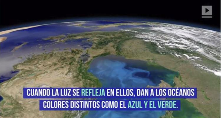 cambio climático alterará los colores de los océanos