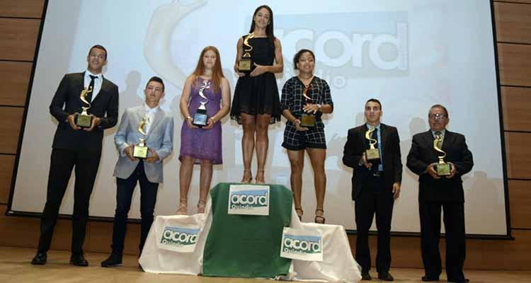 Lina Raga elegida la deportista quindiana del año