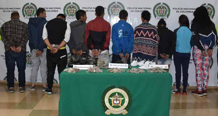10 capturados tras operativos en el Lincoln de Calarcá