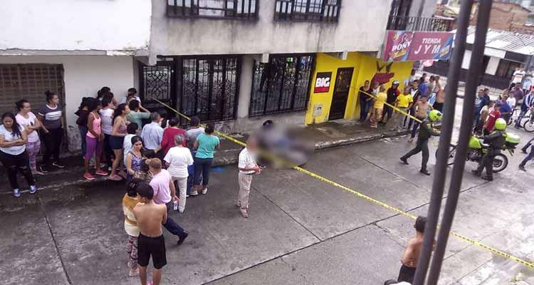 Homicidio la tarde de este sábado en el barrio 25 de Mayo de Armenia