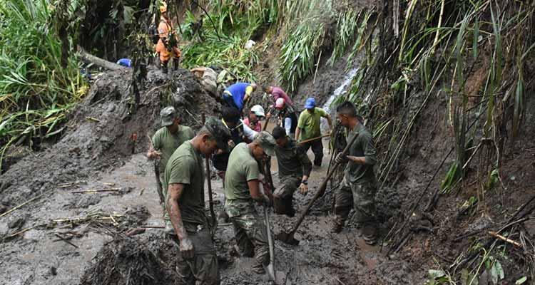 Quimbaya y Montenegro sin agua a causa de derrumbes por las lluvias