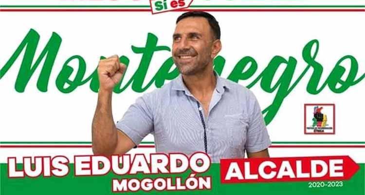 cárcel candidato alcaldía Montenegro Mogollón