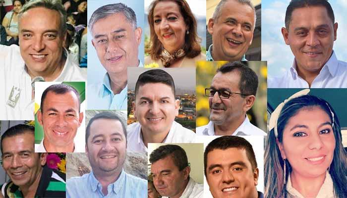 nuevos alcaldes y gobernador Quindío
