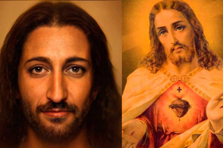 rostro de Jesucristo Inteligencia Artificial