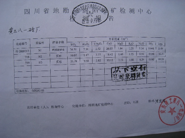 """The company making these powder bricks easily passed official inspection"