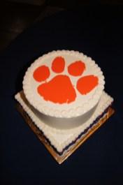 Clemson Groom's cake