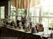 Candy bar with banner
