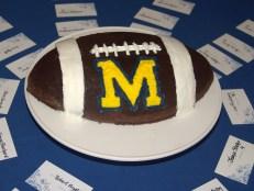 Michigan brownie cake