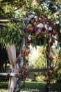 The arbor in fall colors