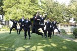Jumping men