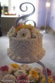 Topper for wedding with cupcakes