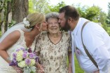 Kissing grandma