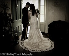Couple in doorway